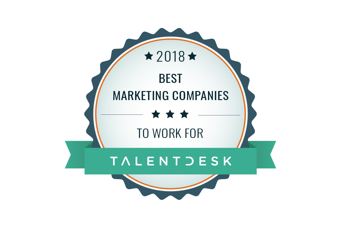 best marketing companies award badge