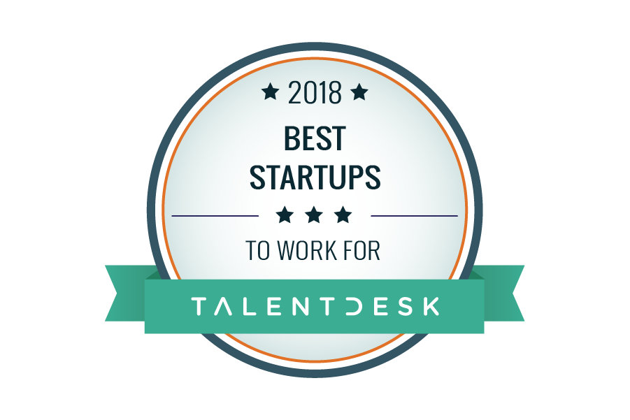 best startups 2018 badge